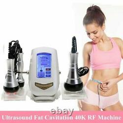 3In1 Ultrasonic Cavitation Vacuum Radio Frequency RF Body Slimming Weight Loss