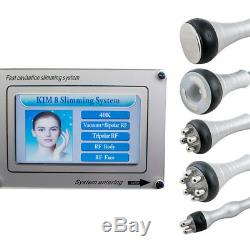 5 IN 1 Ultrasonic Cavitation Radio Frequency Slim Machine Fat Removal Device